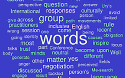 The Words We Use as Mediators